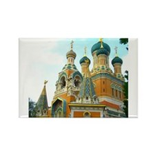 Orthodox Russian Cathedral Church Magnets