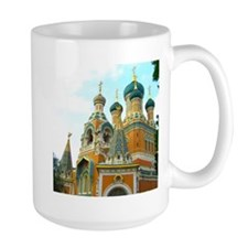 Orthodox Russian Cathedral Church Mugs