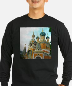 Orthodox Russian Cathedral Church Long Sleeve T-Sh