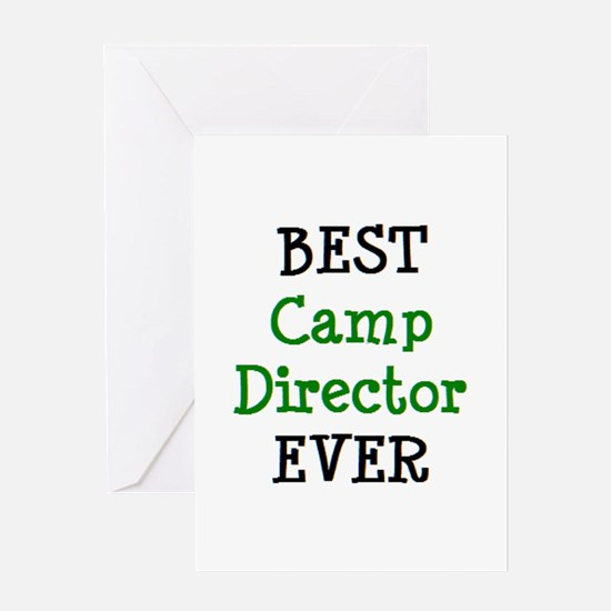 best camp director Greeting Card