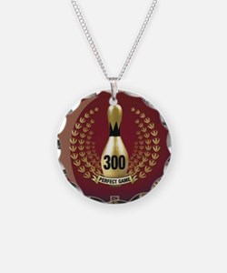 BOWLING - 300 - PERFECT GAME Necklace