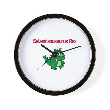 Sebastianosaurus Rex Wall Clock