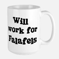Will work for Falafels Mugs