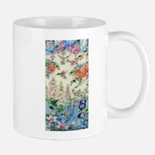 hummingbirds and flowers Mugs
