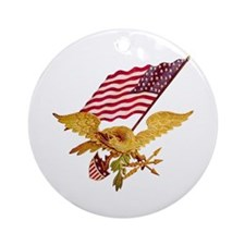 AMERICAN EAGLE Ornament (Round)