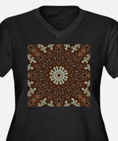 western leather pattern Plus Size T-Shirt