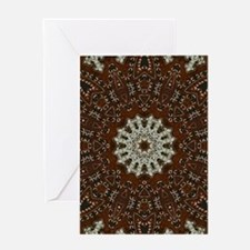 western leather pattern Greeting Cards