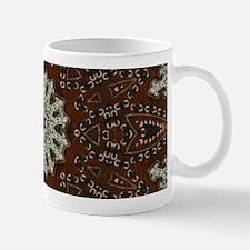 western leather pattern Mugs