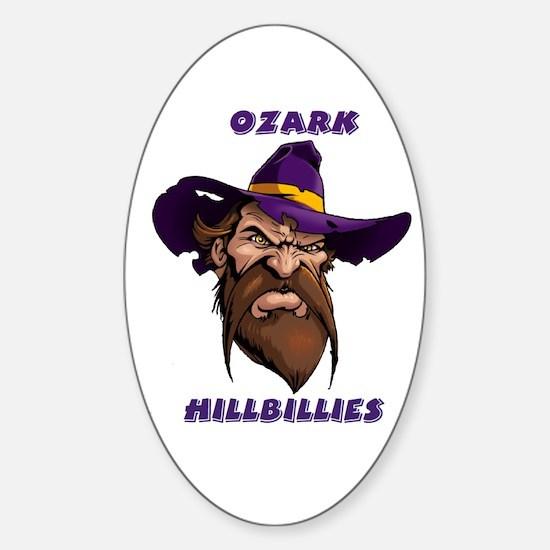 Ozark Hillbilly Oval Decal