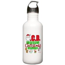 Obsessive Christmas Di Water Bottle