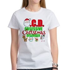 Obsessive Christmas Disorder Tee