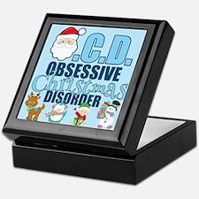 Obsessive Christmas Disorder Keepsake Box