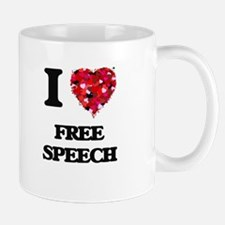 I love Free Speech Mugs