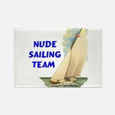 NUDE SAILING Rectangle Magnet (100 pack)