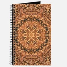 western cowboy tooled leather Journal