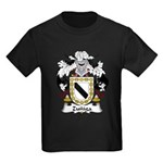 Zuniga Family Crest Kids Dark T-Shirt