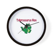 Tylerosaurus Rex Wall Clock