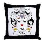 Zeller Family Crest Throw Pillow