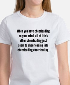 Cheerleading On Your Mind T-Shirt
