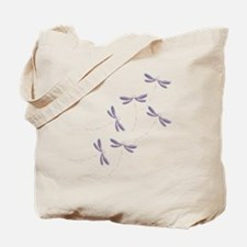 Dragonfly flight Tote Bag