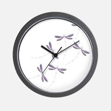 Dragonfly flight Wall Clock