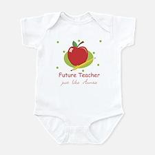Future Teacher Like Auntie Infant Bodysuit