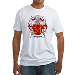 Ximenes Family Crest Fitted T-Shirt