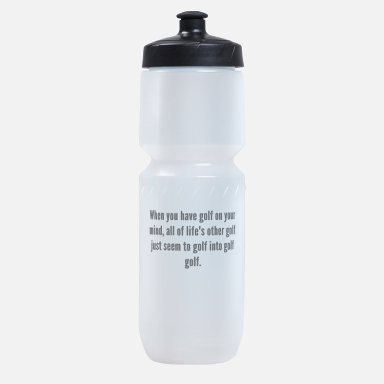 Golf On Your Mind Sports Bottle