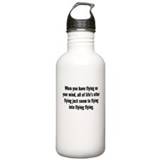 Flying On Your Mind Water Bottle
