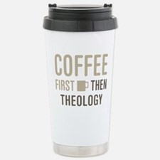 Coffee Then Theology Thermos Mug