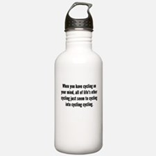Cycling On Your Mind Water Bottle