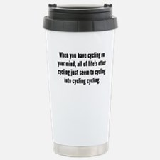 Cycling On Your Mind Travel Mug
