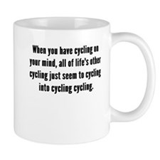 Cycling On Your Mind Mugs