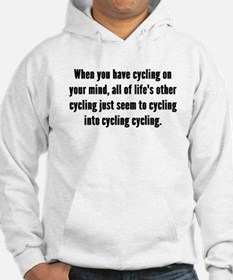Cycling On Your Mind Hoodie