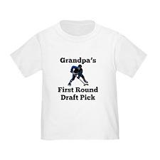 Grandpas First Round Draft Pick T-Shirt