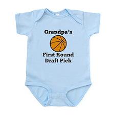 Grandpas First Round Draft Pick Body Suit