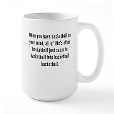 Basketball On Your Mind Mugs