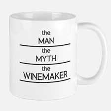 The Man The Myth The Winemaker Mugs