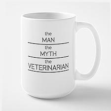 The Man The Myth The Veterinarian Mugs