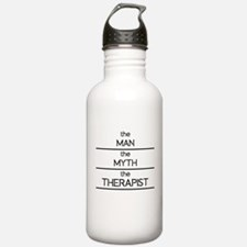 The Man The Myth The Therapist Water Bottle