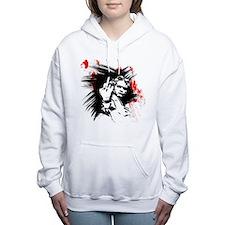 Unique Beethoven Women's Hooded Sweatshirt