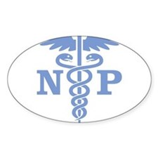 Cute Nurse practitioner Decal