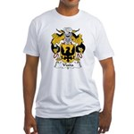 Viana Family Crest Fitted T-Shirt