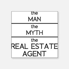 The Man The Myth The Real Estate Agent Sticker