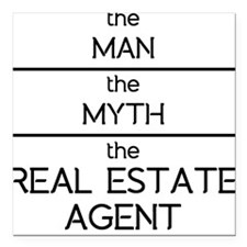 The Man The Myth The Real Estate Agent Square Car