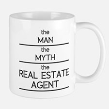 The Man The Myth The Real Estate Agent Mugs