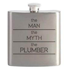 The Man The Myth The Plumber Flask