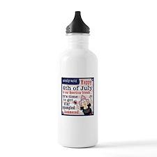 Aunty Acid: Star Spang Water Bottle