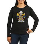 Velasco Family Crest Women's Long Sleeve Dark T-Sh