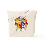 Vaz Family Crest Tote Bag